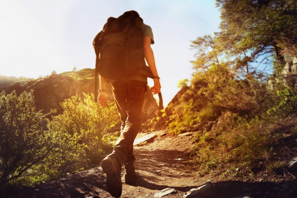 camminare in pendenza