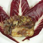 pollo gratinato con cipolle caramellate