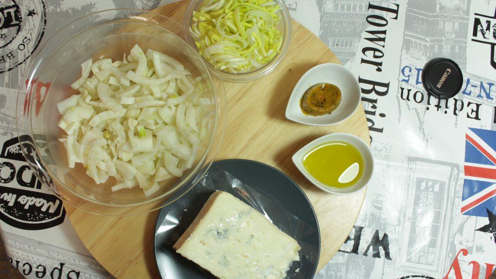 vellutata finocchi e gorgonzola