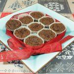 Muffin cioccolato e pera