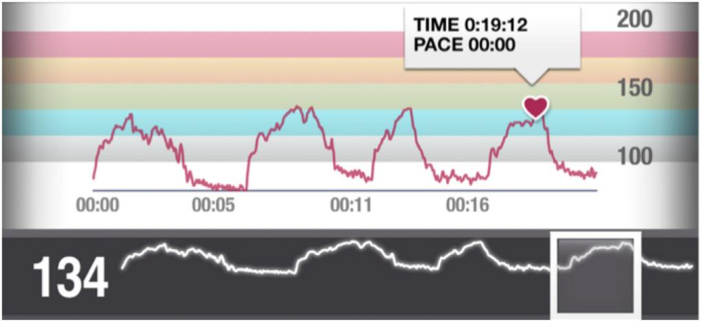 Grafico pulsazioni