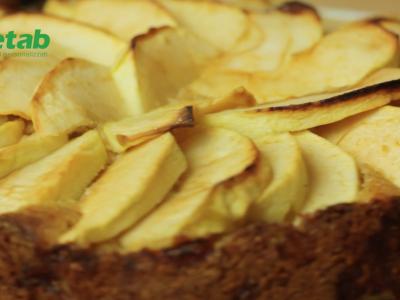 Torta di Mele senza zucchero + farina di farro