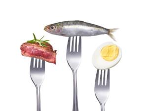carne pesce uova