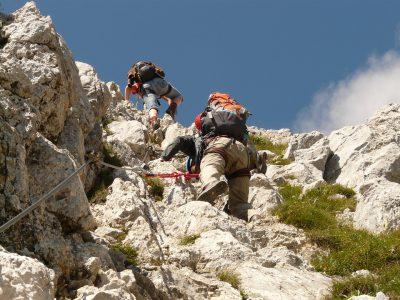 Free-climbing: arrampicarsi e sfidare la vetta