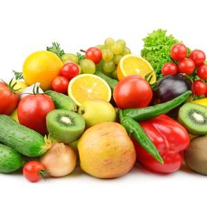frutta e verdura per la dieta vegetariana