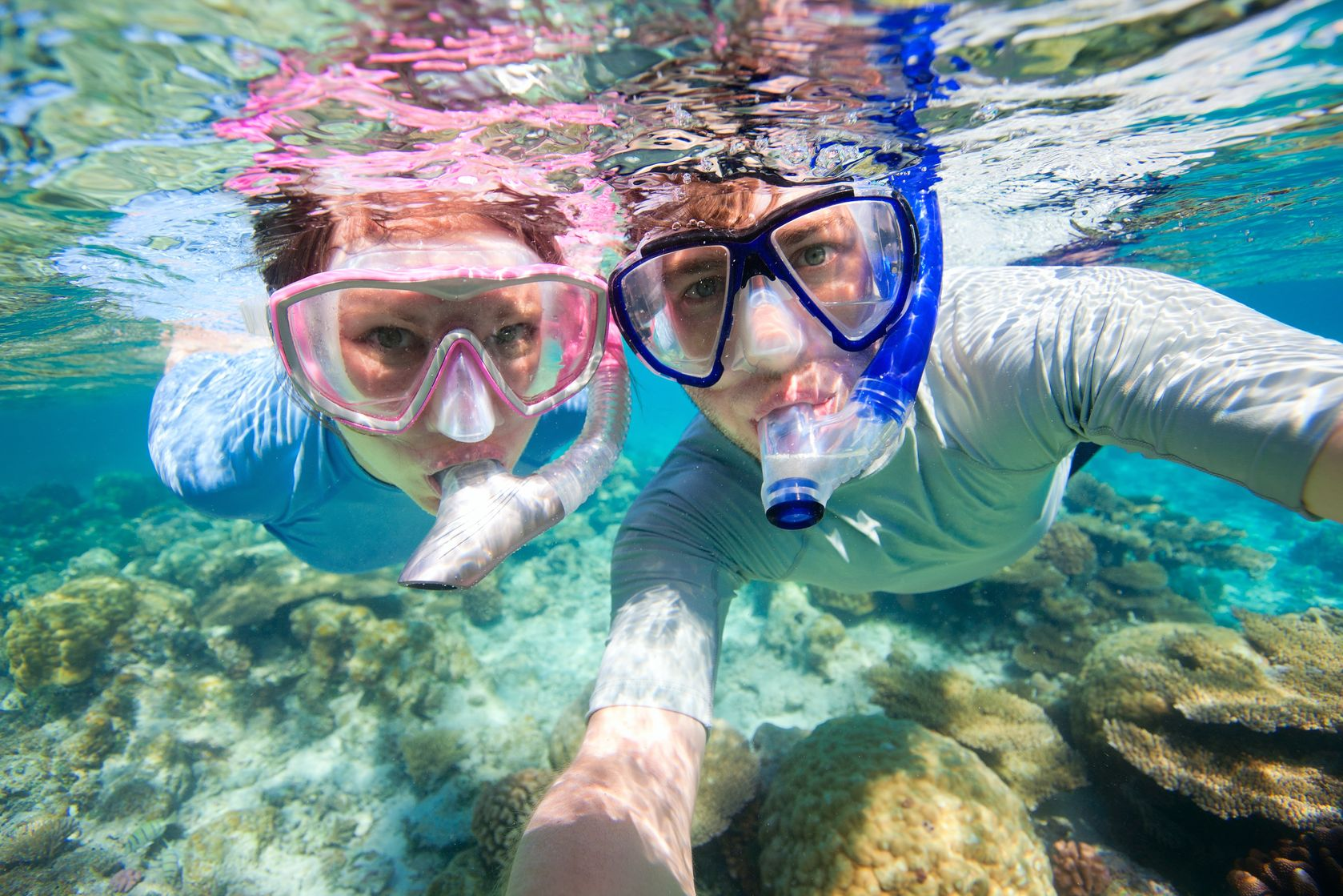 Lo snorkeling come alternativa all'ozio in vacanza